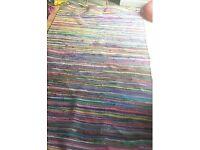Large colourful rug -Bargain