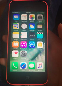 iPhone 5c, great condition, can work on Fido or as an iPod.