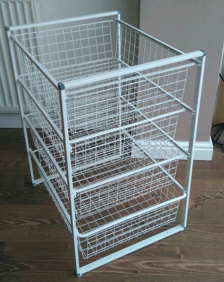 Ikea Wire Baskets And Frame Antonius In Wakefield West