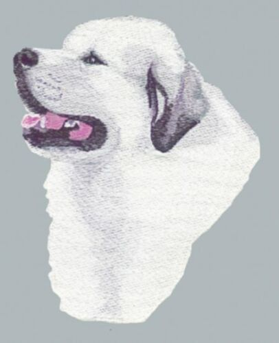 Embroidered Short-Sleeved T-Shirt - Great Pyrenees BT3414  Sizes S - XXL