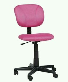 new office chair pink