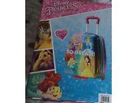 Disney princess kids holiday suitcase