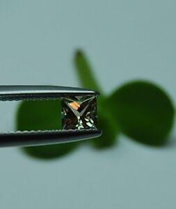4.5x4.5 mm Princess Cut Genuine Color Change Zultanite, 0.57 cts., EC=Eye Clean