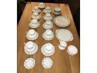 Vintage set of Royal Albert 'Memory Lane' china