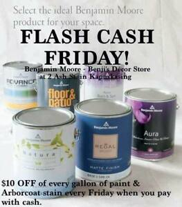 FLASH CASH FRIDAY! $10.00 off every gallon!