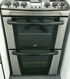 ZANUSSI 55CM STAINLESS STEEL ELECTRIC COOKER ,EXCELLENT CONDITION, 4 MONTHS WARRANTY