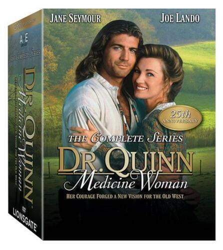 Dr Quinn Medicine Woman Complete Series 25th Anniversary (DVD 42-Disc Set) NEW