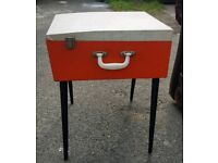 1960s westminster mobile record player
