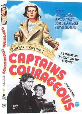Captains Courageous (1937) DVD (Sealed) ~ Spencer Tracy