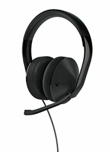 Microsoft Xbox One Stereo Headset NEW (Headset, USB cable, no adapter)