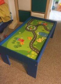 Train/activity table