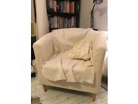 IKEA Tullsta airmchair in cream