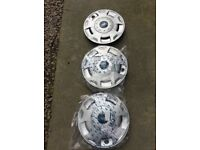 3 x ford transit wheel trims