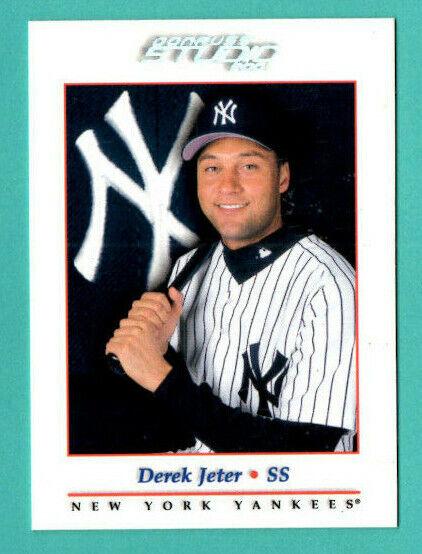 Derek Jeter 2001 Donruss Studio 5 - NM-MINT - New York Yankees - HOF - $1.99