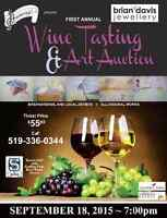 Harmony For Youth's 1st Annual Wine Tasting and Art Auction