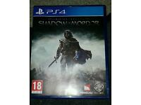Shadows of mordor on ps4