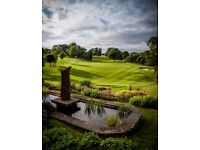 EXPERIENCED WAITING/BAR STAFF REQUIRED AT BUSY GOLF CLUB