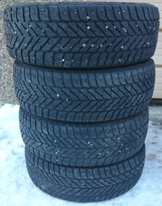 Set of P185/65R14 GoodYear Winter Tires