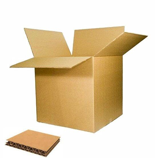 New Cardboard Carton Box Double Wall Corrugated Removal Packing Mailing Postal 40x40x40cm 30x30x30cm