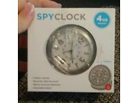 Spy clock hidden camera ect