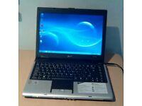 Acer 5050 laptop. 2gb ram, wifi, Windows 7 & office