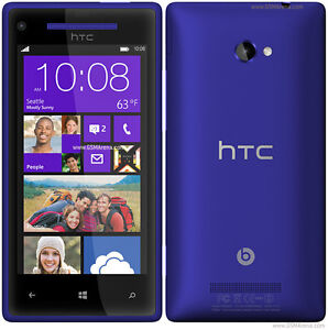 HTC 8X (With Otterbox Case ~ For Bell or Virgin) Cell Phone