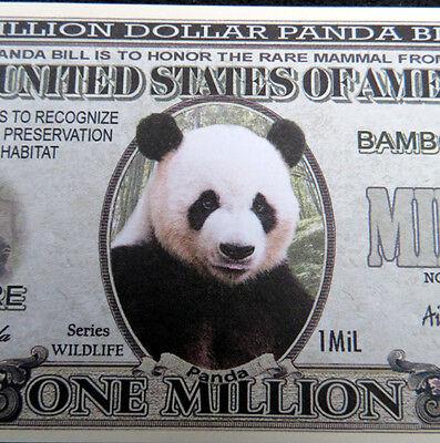 Panda Free Shipping  Million Dollar Novelty Bill