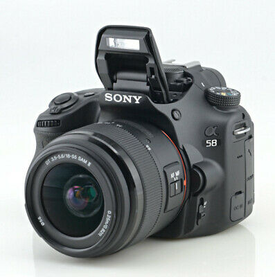 Sony Alpha SLT-A58 20.4MP Digital SLR Camera segunda mano  Embacar hacia Mexico