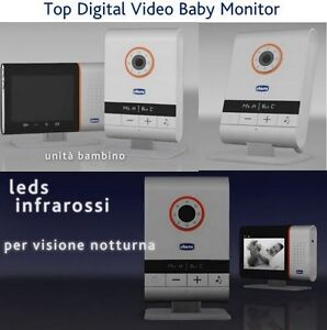 nuovo top digital video chicco baby monitor ebay. Black Bedroom Furniture Sets. Home Design Ideas