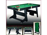 6ft BCE Vertical Folding Snooker / Pool Table