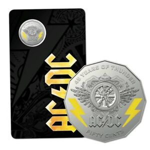 AC/DC Coin Brand New