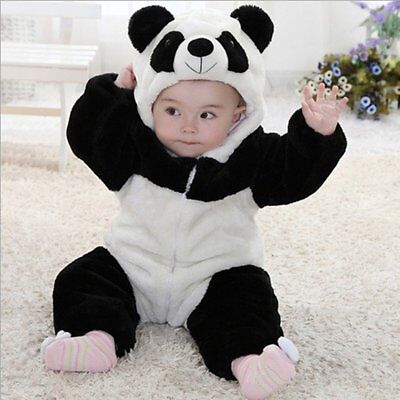 Baby Boy Girl Panda Carnival Fancy Dress WARM Costume Outfit Clothes - Infant Panda Costume