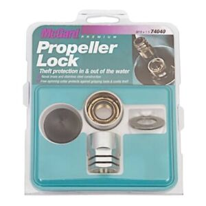New Mcgard Propeller Lock 74040 Anti Theft Protection For Outboar