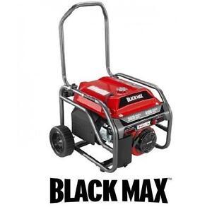 USED BLACK MAX 208CC GAS GENERATOR 3600 RUNNING WATTS - 4500 STARTING WATTS - OUTDOOR POWER EQUIPMENT GENERATORS