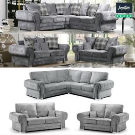 Brand New Verona Corner & 3+2 Sofa