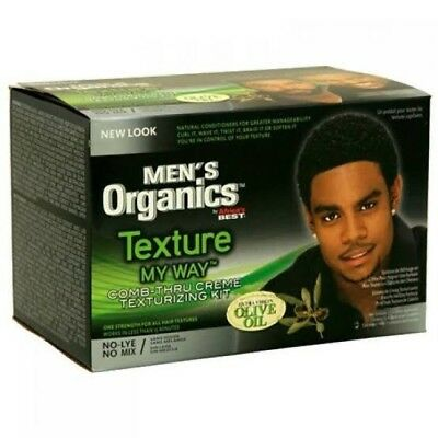 Africa's Best Texture my way Mens no-lye Texturising Kit - Australia (Best Texturizer For Men)