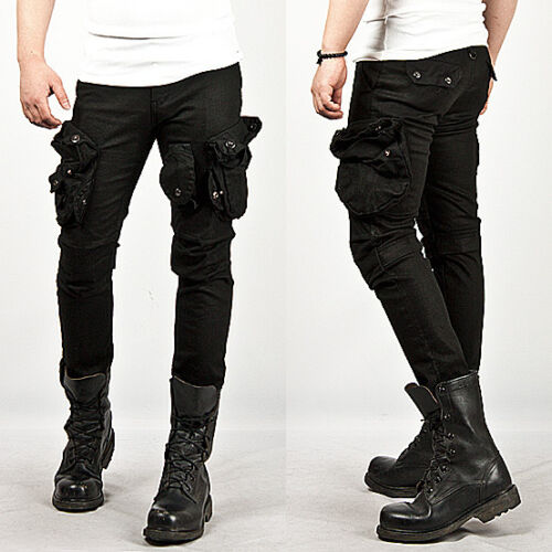 Mens Wax Coated Jeans