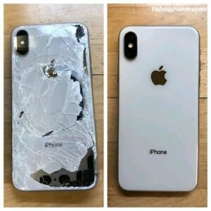 Apple and Samsung front and back glass repair