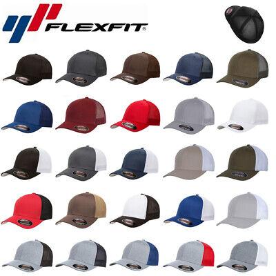 Flexfit Mesh Trucker Baseball Cap Fullcap Hut Mütze in vielen Farben und Größen