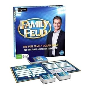 Family Feud Board Game - Brand New