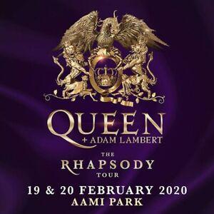 1x Queen and Adam Lambert ticket