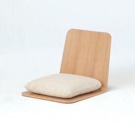 Legless Japanese chairs (x2)