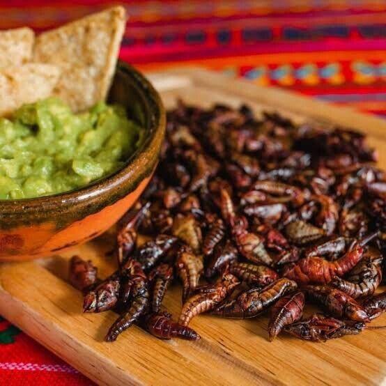 Chapulines Sazonados De Oaxaca (grasshoppers)