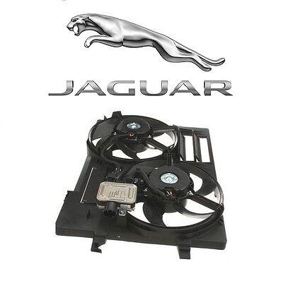 Jaguar Auxiliary Fan (For Jaguar X-Type 2002-2008 Auxiliary Fan Assembly Genuine C2S 49717 )