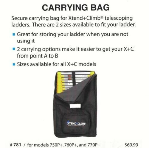 Xtend+Climb Ladder Carrying Bag - #781