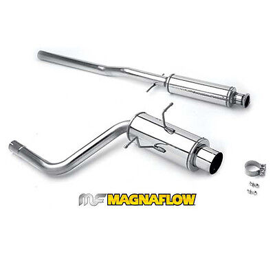 AUTOMUTO Stainless Exhaust System HDSMC02T2 Exhaust Pipe Set Fit for 2002-2008 Mini Cooper