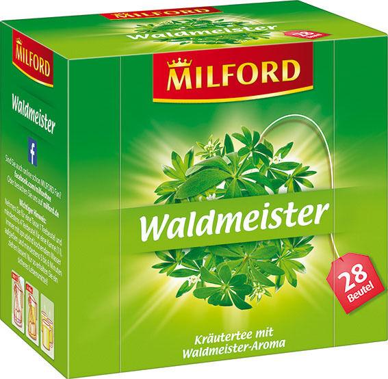 (100g=4,45€) Milford Tee Waldmeister - Kräutertee - 28 Beutel