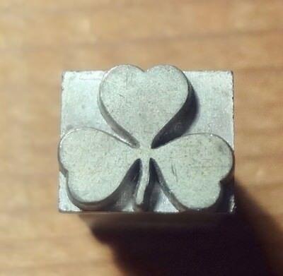 Kingsley 3 Leaf Clover... For Hot Foil Stamp Machine On 18 Pt. Body