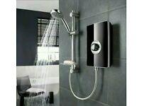 Triton Aspirante 9.5kw Electric Shower Gloss Black