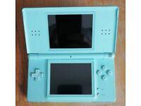 Nintendo DS lite Blue & Brain Training Game